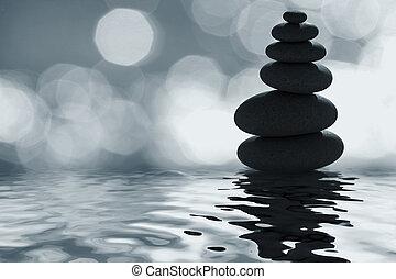 clair lune, zen