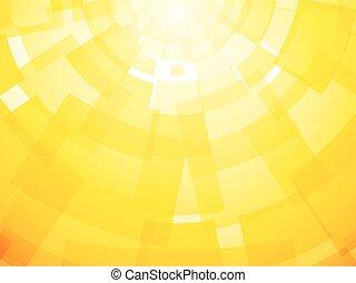 clair, moderne, fond jaune