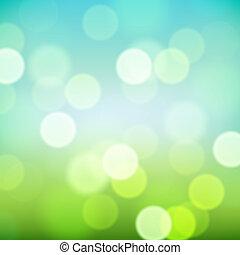 clair, naturel, coloré, fond, brouillé