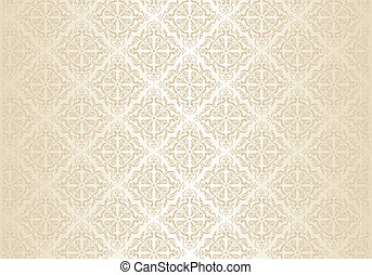 clair, papier peint, or