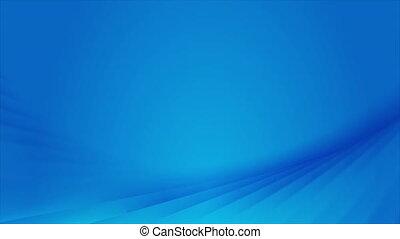 clair, résumé, brillant, ondulé, bleu, mouvement, fond