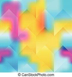 clair, résumé, géométrique, fond