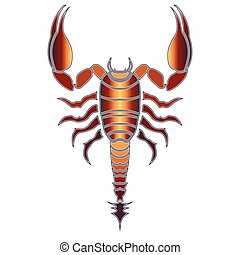 Scorpion astrologie signe de terre