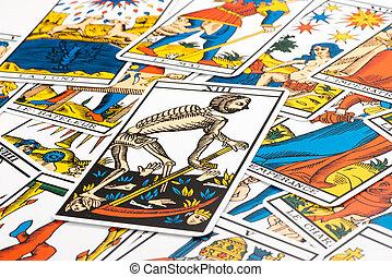 Clairvoyance tarot cards and death