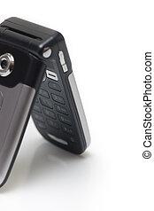 Clamshell Cel Phone on white