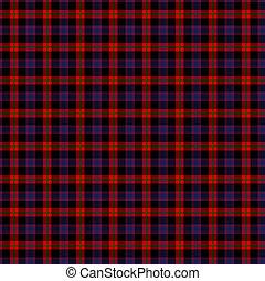 Clan Broun Tartan - A seamless patterned tile of the clan...
