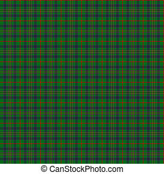 Clan Kennedy Tartan - A seamless patterned tile of the clan...
