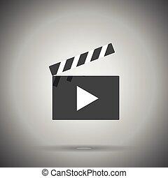 clap film board icon