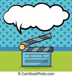 Clapboard  doodle