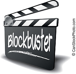 Clapper Board Blockbuster