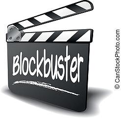 Clapper Board Blockbuster