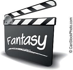 clapper board fantasy