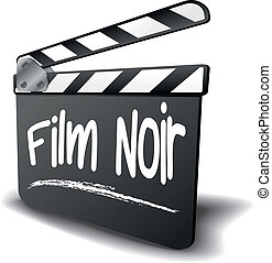 Clapper Board Film Noir