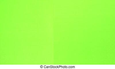 Clapper Board green screen