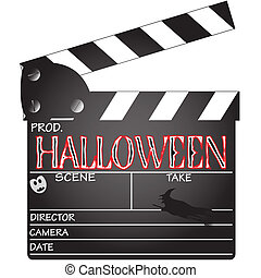 Clapper Board Halloween - A director's 'Halloween' clapper ...