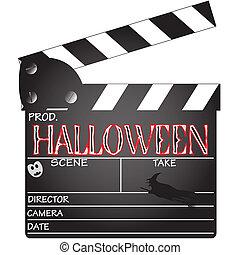 Clapper Board Halloween - A director's 'Halloween' clapper...