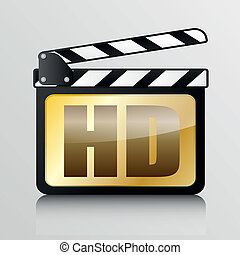 clapper board HD