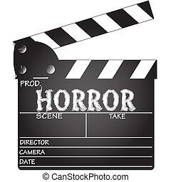 Clapper Board Horror