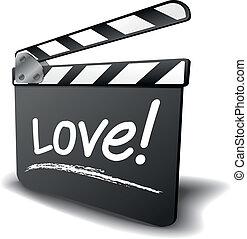 clapper board love