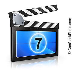Clapper board - Creative video media and digital multimedia...