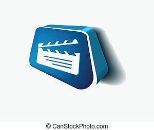 clapper boards icon