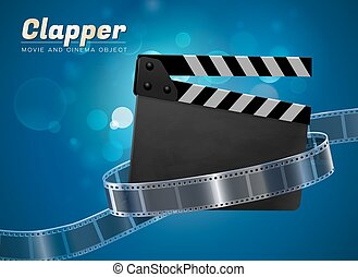 clapper movie cinema object