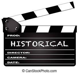 clapperboard, historique
