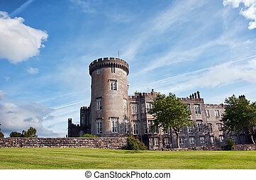 clare, 郡, 贅沢, アイルランド, dromoland, 城