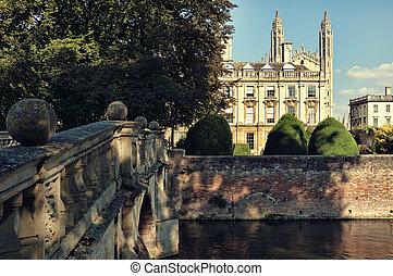 Clare & King`s College, Cambridge, UK