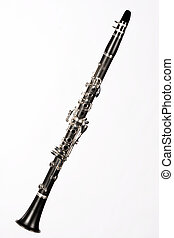 Clarinet Complete Isolated On White - A complete soprano...