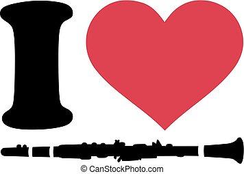 clarinete, amor