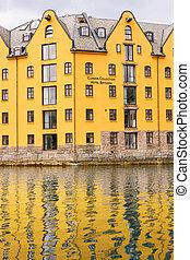 Clarion Collection Hotel Bryggen. - ALESUND, NORWAY - JULY...