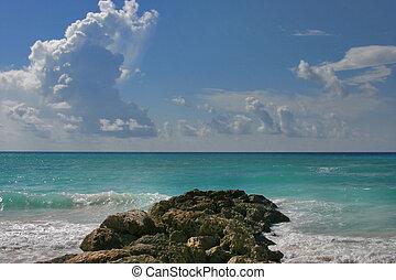 Clarity - Dover beach, Barbados. Sept.