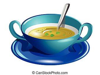 claro, sopa