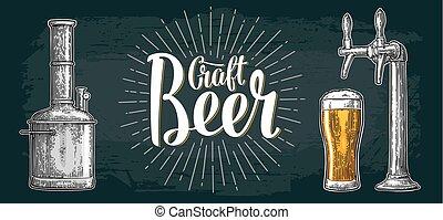 clase, conjunto, botella, lata, golpecito, cerveza, tanques...