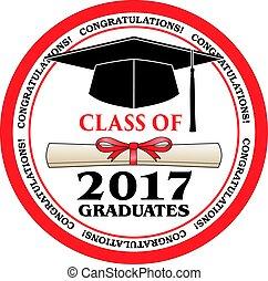 clase, de, 2017, graduados
