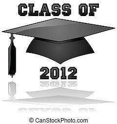 clase, graduación, 2012
