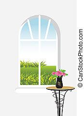 clase, ventana