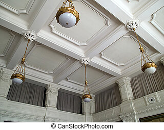 Clasical handcraft ceiling fresco - Clasical beautiful ...