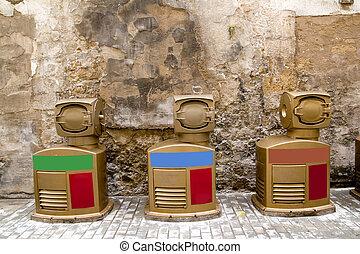 clasiffication, déchets, appareils, vert, ecologic, déchets ménagers