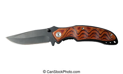 clasp-knife isolated