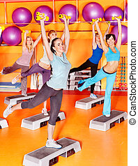 class., aérobic, femmes