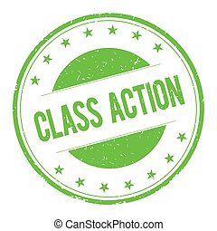 CLASS-ACTION stamp sign