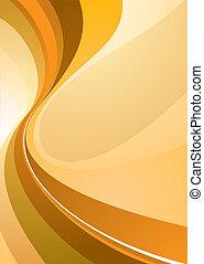 class divide orange - Orange background illustration with...