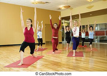 class., ioga, mulheres