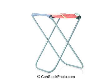 Class metal frame portable folding stool