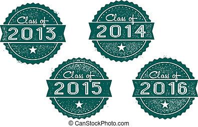 Class of 2013, 2014, 2015, 2016