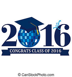 Class of 2016 - An abstract illustration on Graduation Day