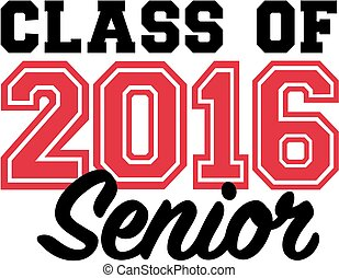 Class of 2016 senior