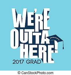 Class of 2017 Congratulations Graduate Typography - Class of...